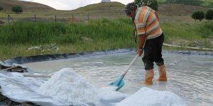 Tunceli'den dünyaya ihraç edilen tuzun üretimi, kuraklık nedeniyle yüzde 50 düştü