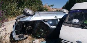 Malatya'da iki araç çarpıştı: 12 yaralı