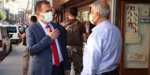 """Vali Akbıyık: """"Pandemiyi birlikte yeneceğiz"""""""