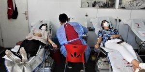 Bingöl'de 15 günde bin ünite kan bağışlandı