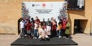 Ağrı'da çocuklar tarihi İshak Paşa Sarayı'nı gezdi