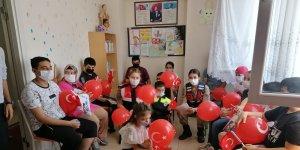jandarma'dan özel çocuklara ziyaret