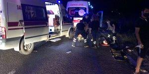 Malatya'da 2 otomobil çarpıştı: 1 ölü, 2 yaralı