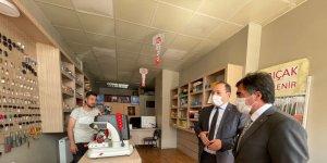 MHP İl Başkanı Karataş esnafla bir araya gelmeye devam ediyor