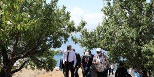 68 ülkenin büyükelçileri ve diplomatları Akdamar Adası'nı gezdi