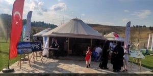 Van Büyükşehir Belediyesi Ahlat'ta yöresel ürünleri sergiledi