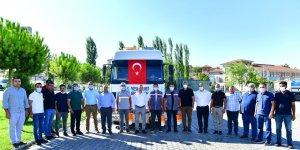 Başkan Çınar, ateş kahramanlarını ziyaret etti