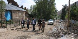 Aziziye Belediyesi yağışların ardından seferber oldu