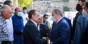 BBP Genel Başkanı Destici, Bitlis'te çeşitli temaslarda bulundu: