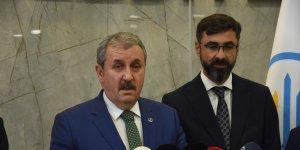 BBP Genel Başkanı Destici Bitlis'te ziyaretlerde bulundu