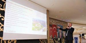 Başkan Akman, 'Danışma kurulu' toplantısına katıldı