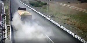 Sakaltutan Geçidi'ndeki kaçış rampası sürücülere 'can simidi' oluyor