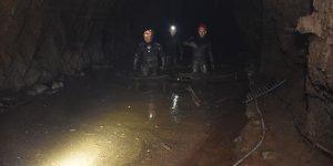 Erzurum'da altı gün önce sele kapılan işçiyi arama çalışmaları sürüyor