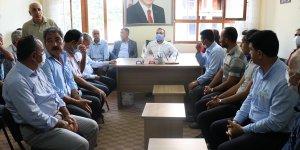 AK Parti Elazığ Milletvekili Zülfü Tolga Ağar, Baskil ilçesini ziyaret etti