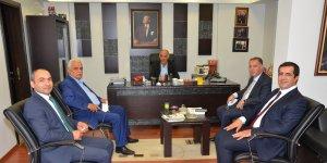 Ziraat Bankası yönetiminden Başkan Yücelik'e ziyaret