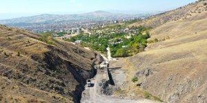 Tarihi Harput-Hüseynik yolu canlanıyor