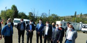 Posof Türkgözü sınır kapısında yıkımlar başladı