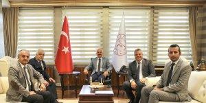 DSİ Erzurum 8. Bölge Müdürü Yavuz, Ağrı'da incelemelerde bulundu
