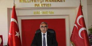 """MHP Erzincan İl Başkanı Aksu: """"Gazilerimizi ve vatanımızın selameti için şehitlik mertebesine yükselen kahramanlarımızı her zaman saygıyla anıyoruz"""""""