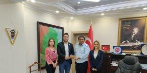 Ağrı UCİM Gönüllüleri Kaymakam Balcı' ya ziyaret