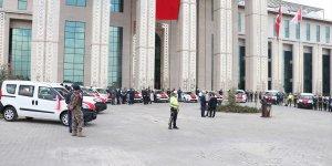 Erzurum Emniyet Müdürlüğüne ihaleyle alınan 15 yeni araç törenle hizmete girdi