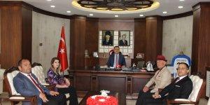 Hakkari Valisi Akbıyık, TSKGV üyelerini kabul etti