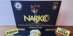 Malatya'da araçla uyuşturucu sevkiyatı polise takıldı