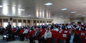 Erciş'te Covid-19 aşı bilgilendirme toplantısı yapıldı