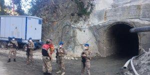 Erzurum'da bir ay önce sele kapılan işçinin cansız bedenine ulaşıldı