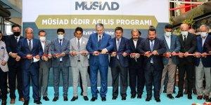 MÜSİAD Genel Başkanı Abdurrahman Kaan, derneğin Iğdır şubesinin açılışını yaptı