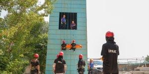 Van'da kadınlardan oluşturulan arama kurtarma timi afetlerde can kurtaracak