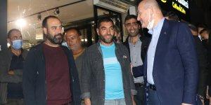 İçişleri Bakanı Süleyman Soylu, Tunceli'de esnaf ziyareti yaptı