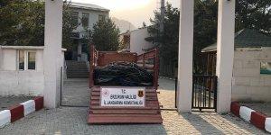 Erzurum'da elektrik kablosu çaldığı iddia edilen kişi tutuklandı