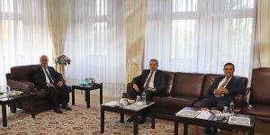 Başsavcı Yağız'dan Atatürk Üniversitesi Rektörü Çomaklı'ya ziyaret