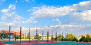 Elazığ'da tenis kortu inşa çalışmaları devam ediyor