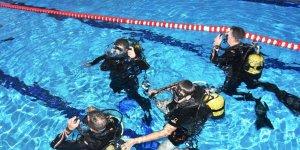 Bitlis'te dalgıçlık eğitimi