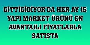 GittiGidiyor'da her ay 15 yapı market ürünü en avantajlı fiyatlarla satışta