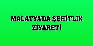 Malatya'da şehitlik ziyareti