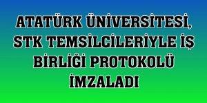 Atatürk Üniversitesi, STK temsilcileriyle iş birliği protokolü imzaladı