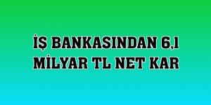 İş Bankasından 6,1 milyar TL net kar