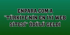 Enpara.com'a 'Türkiye'nin en iyi web sitesi' ödülü geldi