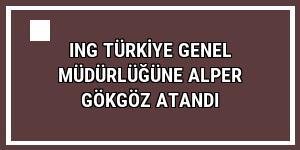 ING Türkiye Genel Müdürlüğüne Alper Gökgöz atandı