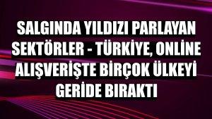 SALGINDA YILDIZI PARLAYAN SEKTÖRLER - Türkiye, online alışverişte birçok ülkeyi geride bıraktı