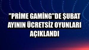 'Prime Gaming'de şubat ayının ücretsiz oyunları açıklandı
