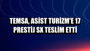 Temsa, Asist Turizm'e 17 Prestij SX teslim etti