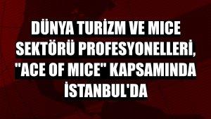 Dünya turizm ve MICE sektörü profesyonelleri, 'ACE of MICE' kapsamında İstanbul'da