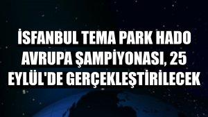 İSFANBUL Tema Park HADO Avrupa Şampiyonası, 25 Eylül'de gerçekleştirilecek