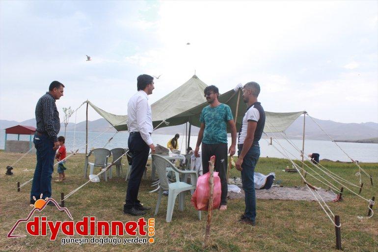 Doğu'nun saklı cenneti Balık Gölü'nde festival heyecanı - AĞRI 2