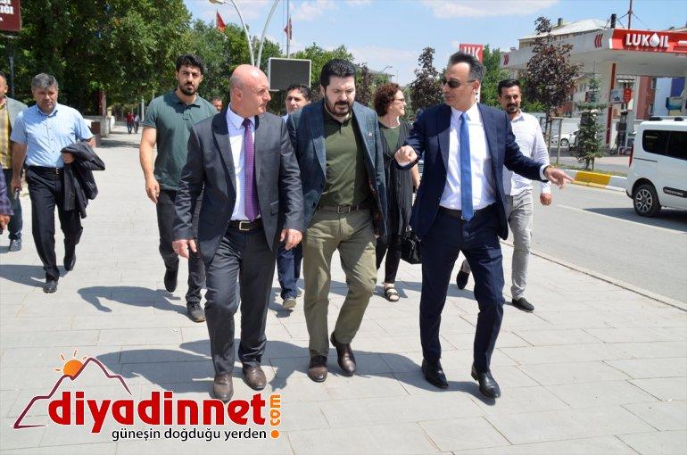 Türkiye Belediyeler Birliği heyeti Ağrı Belediyesini ziyaret etti2