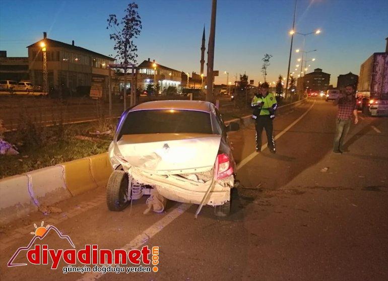 Ağrı'da iki otomobil çarpıştı: 5 yaralı